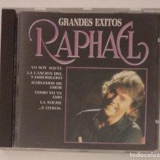 CDs de Música: 1° EDICIÓN SIN CÓDIGO DE BARRAS / RAPHAEL 1987 CD IMPECABLE - GRANDES EXITOS. Lote 263200400