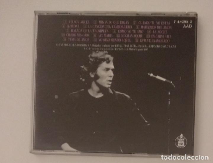 CDs de Música: 1° edición sin código de barras / RAPHAEL 1987 CD impecable - GRANDES EXITOS - Foto 2 - 263200400