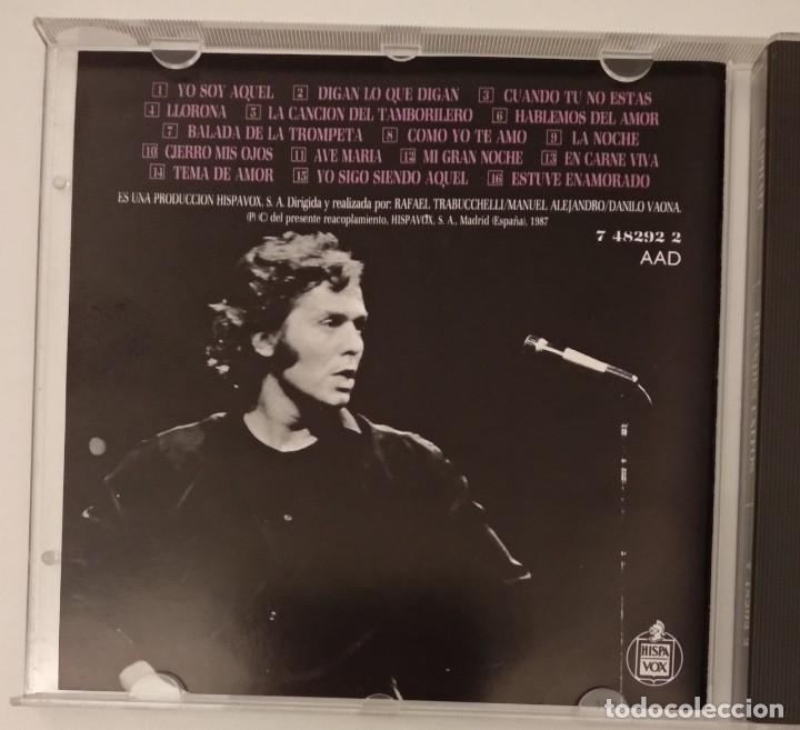 CDs de Música: 1° edición sin código de barras / RAPHAEL 1987 CD impecable - GRANDES EXITOS - Foto 6 - 263200400