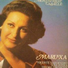 CDs de Música: DOBLE CD MONTSERRAT CABALLE MARUXA. Lote 263207275