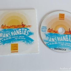 CDs de Música: MANS MANETES / L'ALGUER. PARAULES, CANÇONS I VEUS DE MINYONS / PROMO CD - EDR-2018 / 6 TEMAS / LUJO.. Lote 263262265