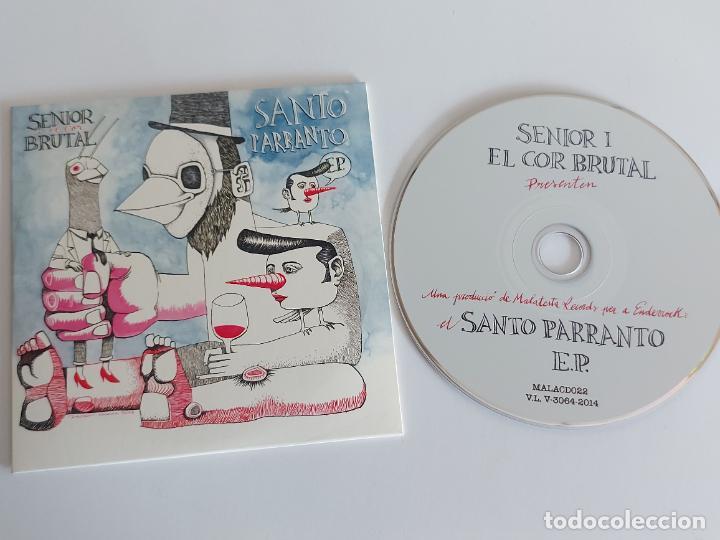SENIOR I EL COR BRUTAL / SANTO PARRANTO E.P. / PROMO CD - EDR-2015 / 4 TEMAS / IMPECABLE. (Música - CD's World Music)