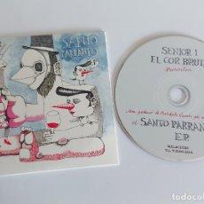 CDs de Música: SENIOR I EL COR BRUTAL / SANTO PARRANTO E.P. / PROMO CD - EDR-2015 / 4 TEMAS / IMPECABLE.. Lote 263268760