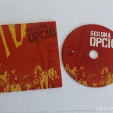 CDs de Música: SEGONA OPCIÓ / CD - RADIKAL RECORDS-2007 / 8 TEMAS / IMPECABLE.. Lote 296580563