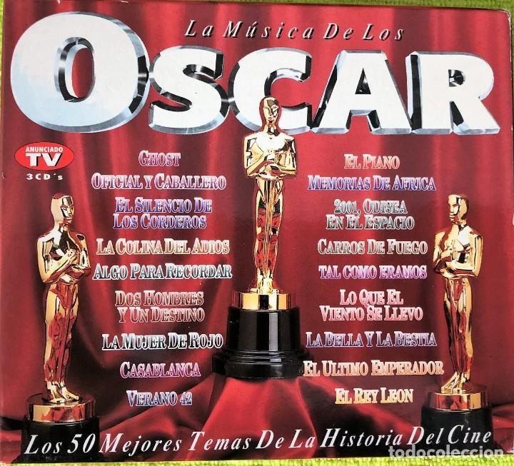 LA MÚSICA DE LOS OSCAR - HENRY SALOMON Y ORQUESTA - TRIPLE CD (Música - CD's Clásica, Ópera, Zarzuela y Marchas)