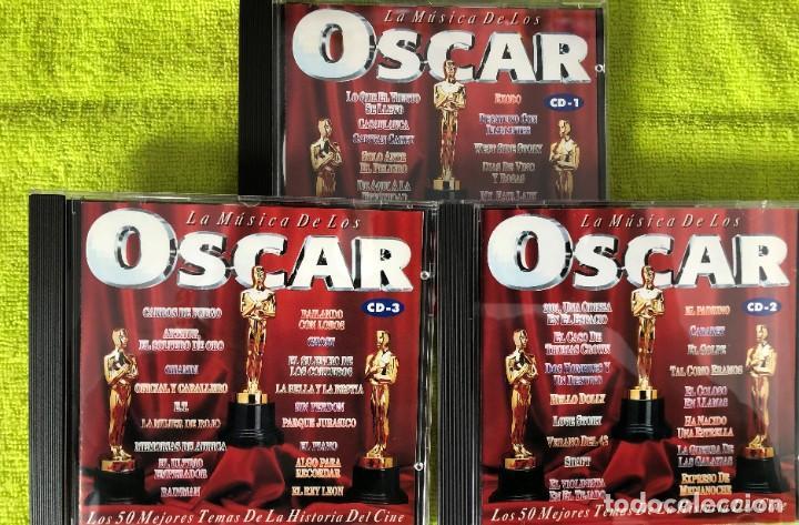 CDs de Música: LA MÚSICA DE LOS OSCAR - Henry Salomon Y Orquesta - TRIPLE CD - Foto 2 - 263300060