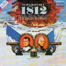 CDs de Música: TCHAIKOVSKY - 1812 - DIRECTOR CHARLES DUTOIT - 11 TRACKS - ED. DECCA RECORDS - AÑO 1986.. Lote 263531675