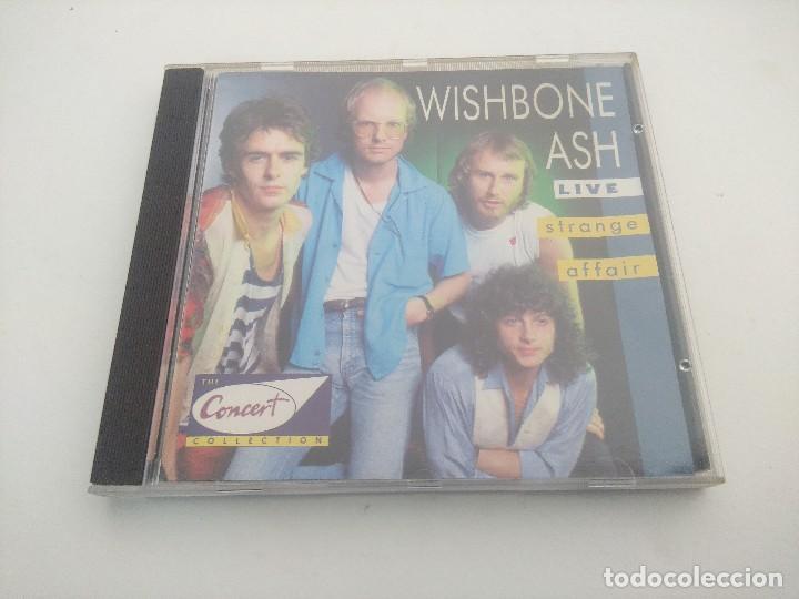 CD METAL/WHISBONE ASH/STRANGE AFFAIR. (Música - CD's Heavy Metal)