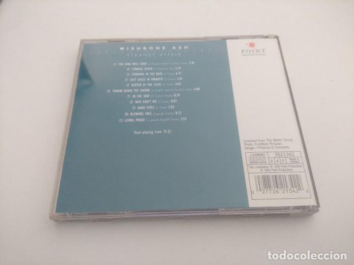 CDs de Música: CD METAL/WHISBONE ASH/STRANGE AFFAIR. - Foto 2 - 263548605