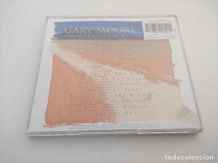 CDs de Música: CD METAL/GARY MOORE/1982 BALLADS & BLUES 1994. - Foto 2 - 263549310