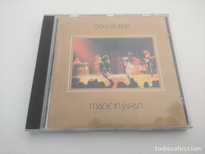 CD METAL/DEEP PURPLE/MADE IN JAPAN. (Música - CD's Heavy Metal)