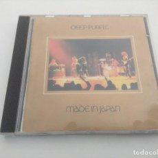 CDs de Música: CD METAL/DEEP PURPLE/MADE IN JAPAN.. Lote 263549840