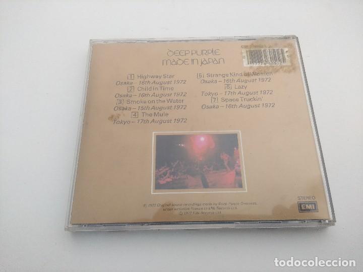 CDs de Música: CD METAL/DEEP PURPLE/MADE IN JAPAN. - Foto 2 - 263549840