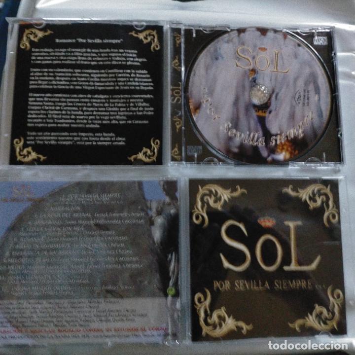 CD SEMANA SANTA SEVILLA BANDA DEL SOL POR SIEMPRE 12 TEMAS (Música - CD's Otros Estilos)