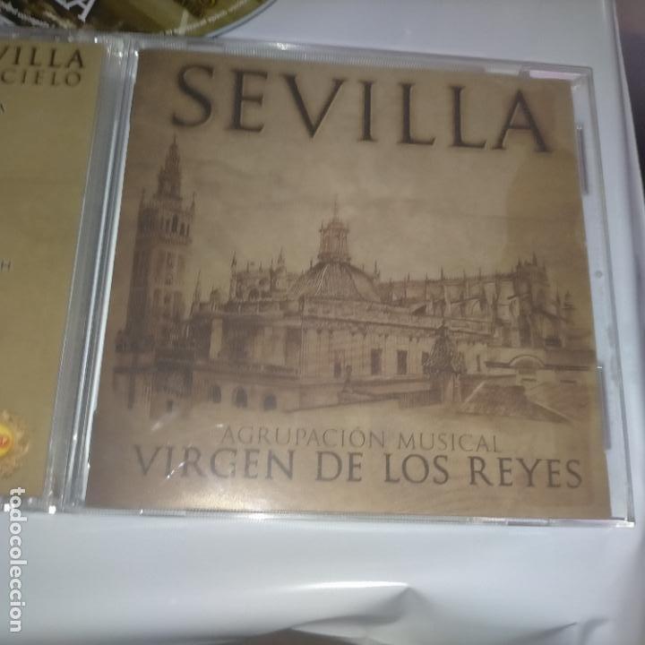 CDs de Música: CD SEMANA SANTA SEVILLA - VIRGEN DE LOS REYES AGRUPACION MUSICAL - DIFISILISIMO - Foto 2 - 263551400