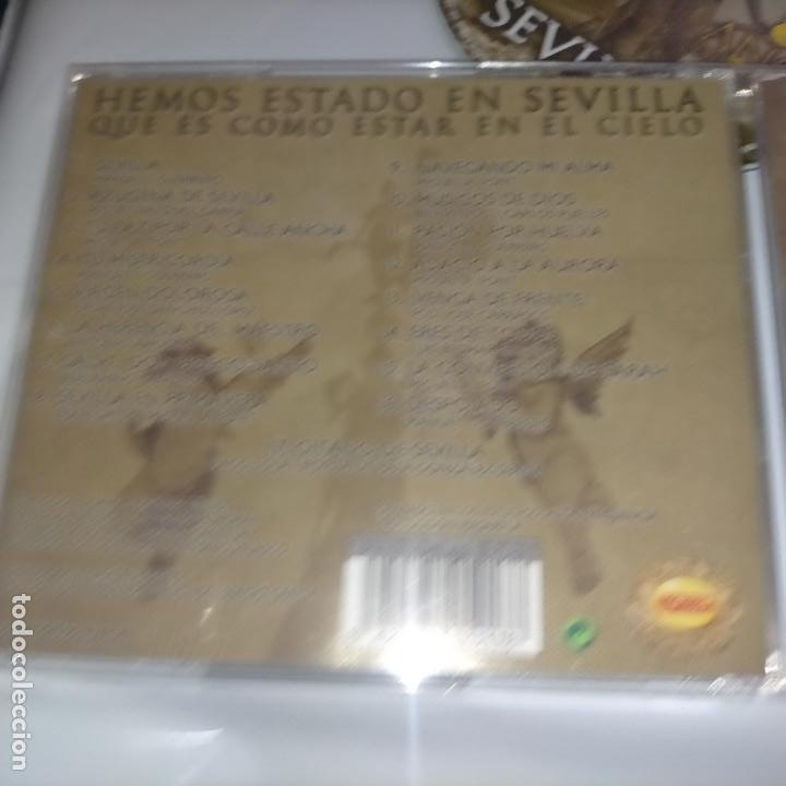 CDs de Música: CD SEMANA SANTA SEVILLA - VIRGEN DE LOS REYES AGRUPACION MUSICAL - DIFISILISIMO - Foto 4 - 263551400