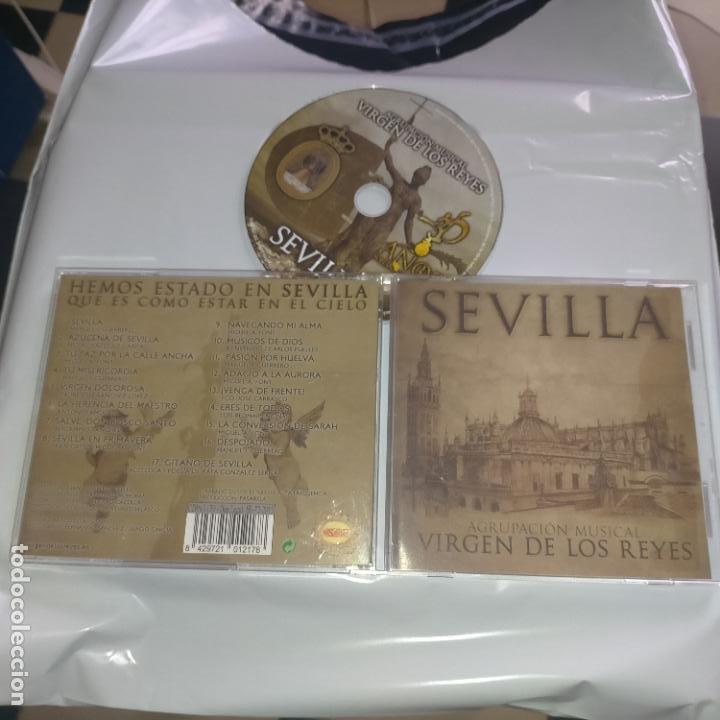 CD SEMANA SANTA SEVILLA - VIRGEN DE LOS REYES AGRUPACION MUSICAL - DIFISILISIMO (Música - CD's Otros Estilos)