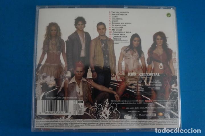 CDs de Música: CD DE MUSICA RBD CELESTIAL AÑO 2006 Nº 398 - Foto 2 - 263553880