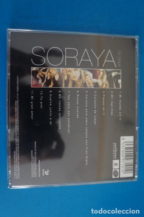 CDs de Música: CD DE MUSICA SORAYA AÑO 2005 Nº 404 - Foto 2 - 263556540