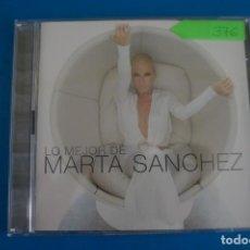 CDs de Música: CD DE MUSICA LO MEJOR DE MARTA SANCHEZ AÑO 2004 Nº 376. Lote 263559395