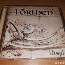 CDs de Música: LORIHEN CD UTOPIA, ARGENTINA HEAVY/POWER 2000-RATA BLANCA-MAGO DE OZ--SPHINX-EDEN-ZENOBIA. Lote 263560800