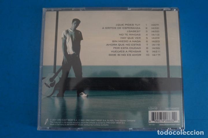 CDs de Música: CD DE MUSICA ALEX UBAGO ¿QUE PIDES TU? AÑO 2001 Nº 409 - Foto 2 - 263564355