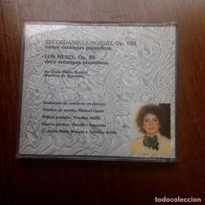 CDs de Música: Teresina Jordá - Piano - Foto 2 - 263564780