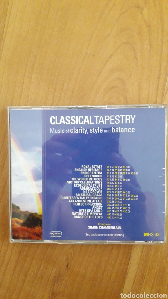 CDs de Música: MÚSICA DE LIBRERÍA. BANCO DE SONIDO. MUSICHOUSE. CLASSICAL TAPESTRY - Foto 2 - 263566820