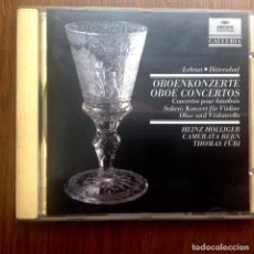 CDs de Música: OBOE CONCERTOS - ANTONIO SALIERI ETC. Lote 263567095