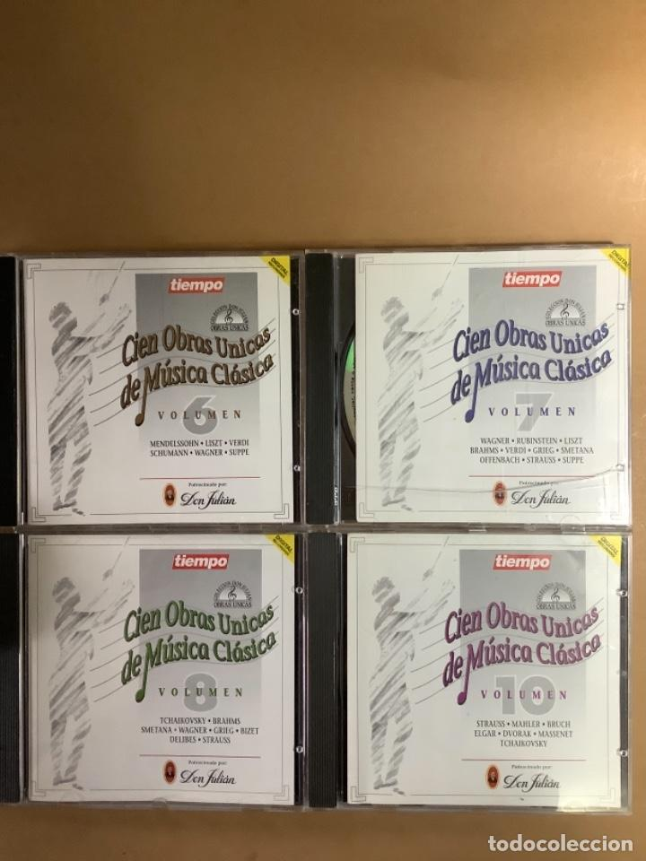 CIEN OBRAS ÚNICAS DE MÚSICA CLÁSICA. CDS. (Música - CD's Clásica, Ópera, Zarzuela y Marchas)