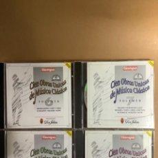 CDs de Música: CIEN OBRAS ÚNICAS DE MÚSICA CLÁSICA. CDS.. Lote 263569675