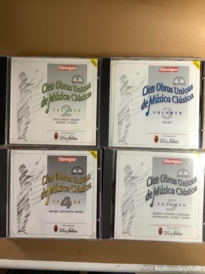 CDs de Música: Cien obras únicas de música clásica. CDS. - Foto 2 - 263569675