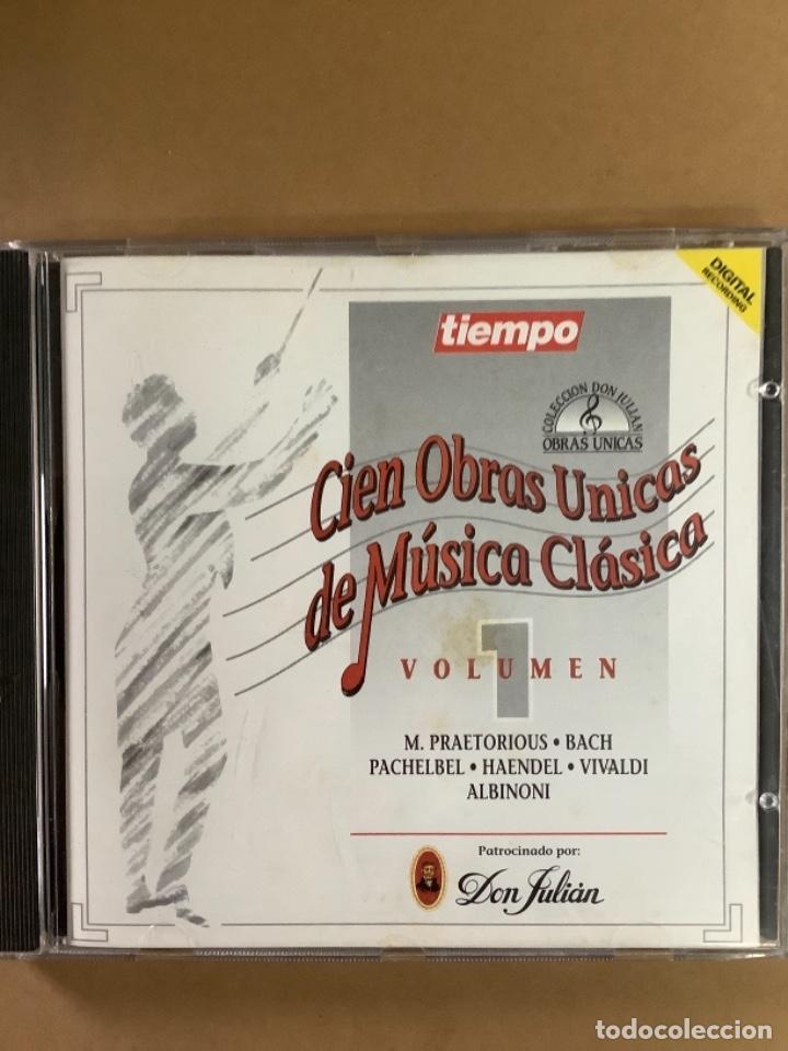 CDs de Música: Cien obras únicas de música clásica. CDS. - Foto 3 - 263569675