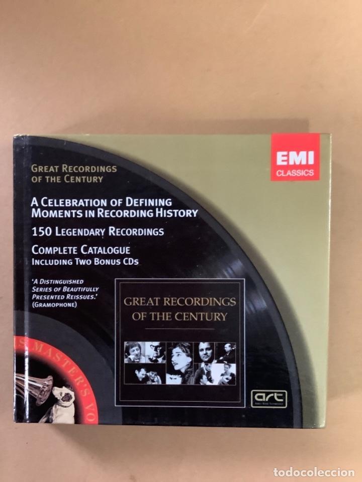 CATÁLOGO EMI CLASSICS. LIBRETO MÁS DE 100 REFERENCIAS Y DOBLE CD MUESTRAS. (Música - CD's Clásica, Ópera, Zarzuela y Marchas)