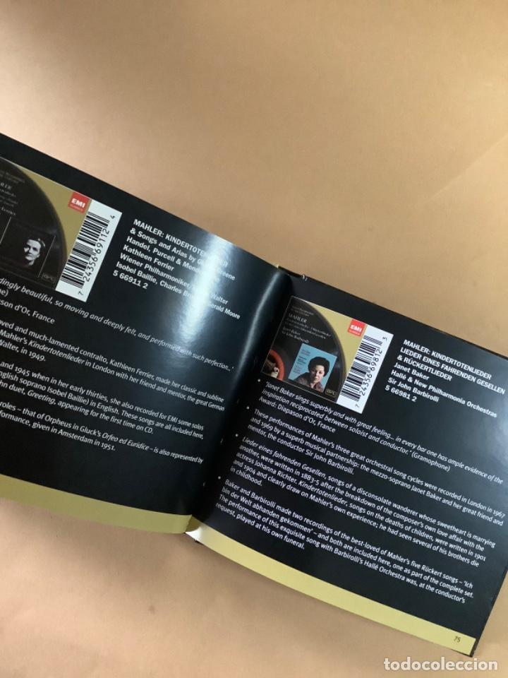 CDs de Música: Catálogo EMI CLASSICS. libreto más de 100 referencias y doble CD muestras. - Foto 2 - 263570840