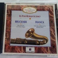 CDs de Música: BRUCKNER / FRANCK EL POST-ROMANTICISMO GRAN ENCICLOPEDIA MUSICA Nº 22 ALFA DELTA 1995. Lote 263571730