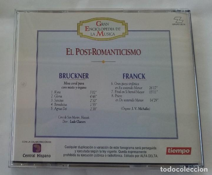 CDs de Música: Bruckner / Franck El Post-Romanticismo Gran Enciclopedia Musica Nº 22 ALFA DELTA 1995 - Foto 2 - 263571730