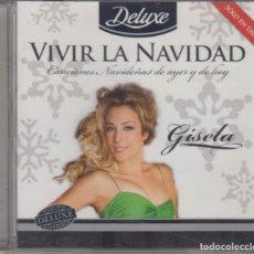 CD di Musica: GISELA CD VIVIR LA NAVIDAD 2010 OPERACIÓN TRIUNFO. Lote 263576910