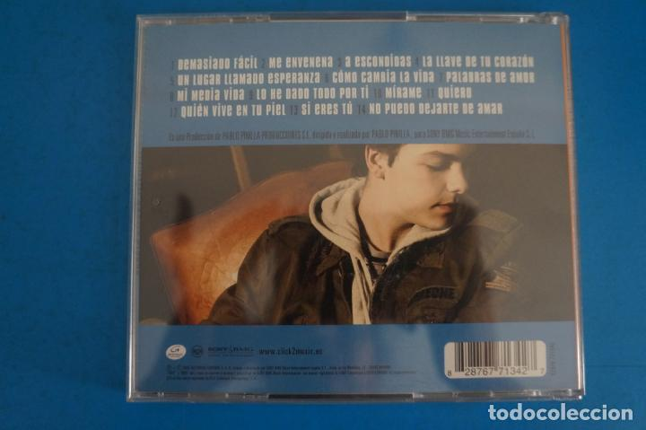CDs de Música: CD DE MUSICA SERGIO RIVERO QUIERO AÑO 2005 Nº 410 - Foto 2 - 263578285