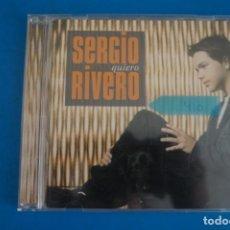 CDs de Música: CD DE MUSICA SERGIO RIVERO QUIERO AÑO 2005 Nº 410. Lote 263578285
