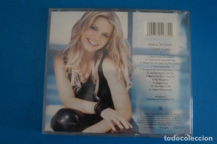CDs de Música: CD DE MUSICA JESSICA SIMPSON SWEET KISSES AÑO 1999 Nº 412 - Foto 2 - 263579290