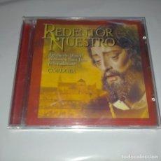 CDs de Música: CD PRECINTADO SEMANA SANTA CORDOBA REDENTRO NUESTRO , CRISTO, AGRUPACION MUSICAL. Lote 263581385