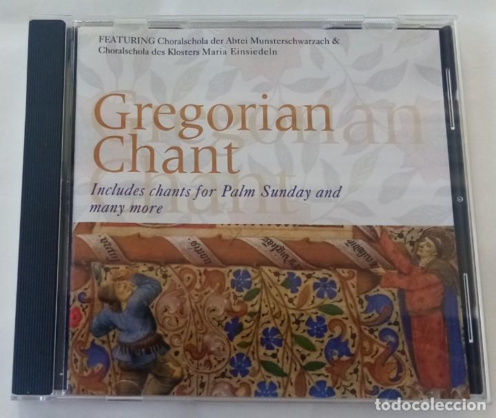 GREGORIAN CHANT (Música - CD's Clásica, Ópera, Zarzuela y Marchas)