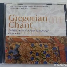 CDs de Música: GREGORIAN CHANT. Lote 263582610