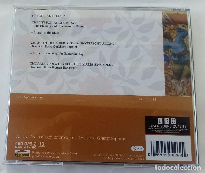 CDs de Música: GREGORIAN CHANT - Foto 2 - 263582610