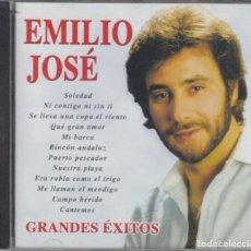 CDs de Música: EMILIO JOSÉ CD GRANDES ÉXITOS 2001. Lote 263584500