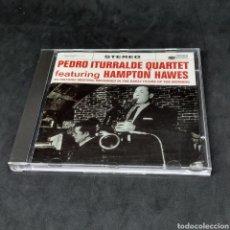 CDs de Música: PEDRO ITURRALDE QUARTET FEATURING HAMPTON HAWES - CD - 1997. Lote 263585100