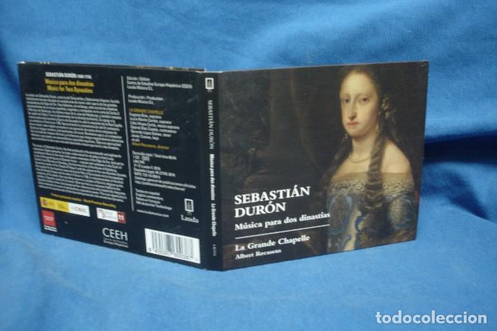 SEBASTIÁN DURÓN - MÚSICA PARA DOS DINASTÍAS - LAUDA 2016 (Música - CD's Clásica, Ópera, Zarzuela y Marchas)