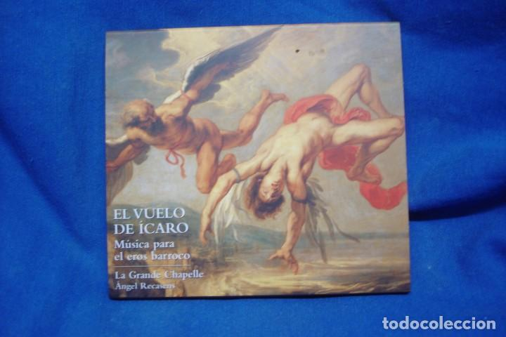 EL VUELO DEL ÍCARO - MÚSICA PARA EL EROS BARROCO - LAUDA 2005 (Música - CD's Clásica, Ópera, Zarzuela y Marchas)