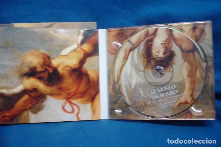 CDs de Música: EL VUELO DEL ÍCARO - MÚSICA PARA EL EROS BARROCO - LAUDA 2005 - Foto 2 - 263587335